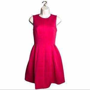 Calvin Klein | Tailored Pink Sleeveless Mini Dress